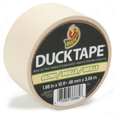 Duck Brand Glow Duct Tape 1 88 Quot X 10 Feet Glow In The