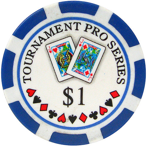 Phil Hellmuth Jr. Tournament Pro Series Poker Chips, Set of 50 by TRADEMARK GAMES INC