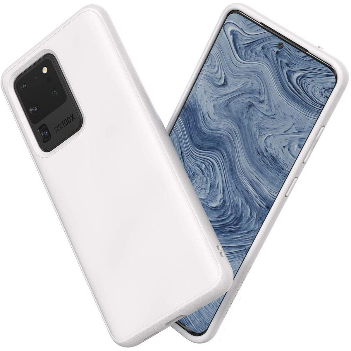 Rhinoshield Solidsuit Case For Samsung Galaxy S20 Ultra Classic White Walmart Com Walmart Com