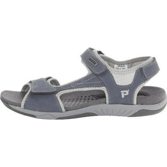 6e324e8bbd0a Propet - Propet Helen - Sandals - Women s - Denim Blue Silver - Walmart.com