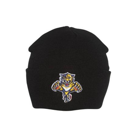 NHL Florida Panthers Cuff Beanie Cap Hat- Black - image 2 de 2