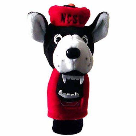 Team Golf NCAA North Carolina State Mascot Head Cover Carolina College Mascot Headcover