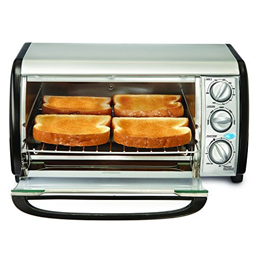 Bella 14326 4-Slice Toaster Oven Toast, Bake, Broil, and More by Bella