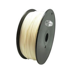 White 3D Printing 1.75mm PLA Filament Roll – 1 kg (1 pack)