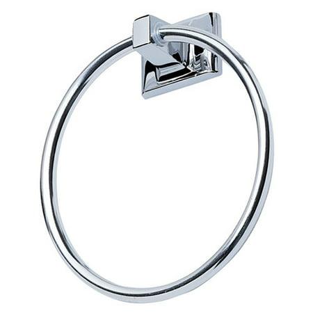 Hardware House Sunset Chrome Towel Ring ()