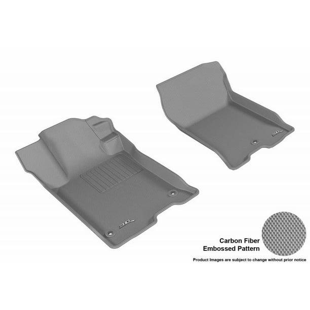 3D MAXpider 2015-2019 Acura TLX Kagu 1st Row Gray Carbon