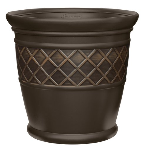 "Better Homes and Gardens 22"" Lattice Planter by Suncast"