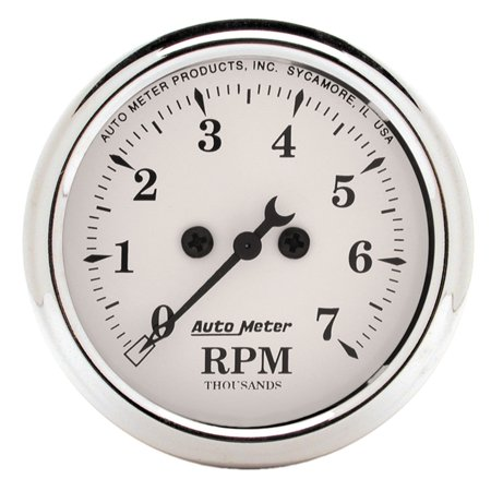Autometer 1694 Old Tyme White Electric Tachometer
