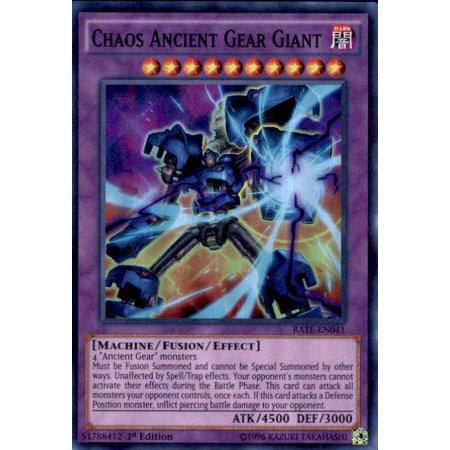YuGiOh Raging Tempest Chaos Ancient Gear Giant