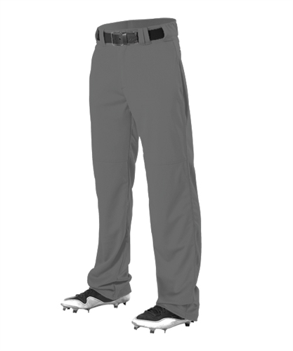 Alleson Youth Relaxed Fit Open Bottom Baseball Pants w  Adjustable Inseam by Alleson