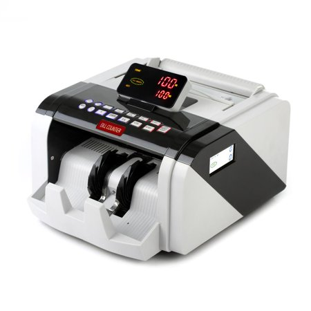 Digital Small Business Cash Counter (PYLE PRMC600 - Automatic Bill Counter, Digital Cash Money Banknote Counting Machine )