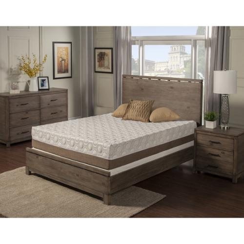 Blissful Nights Dahlia 11 inch King size Memory Foam