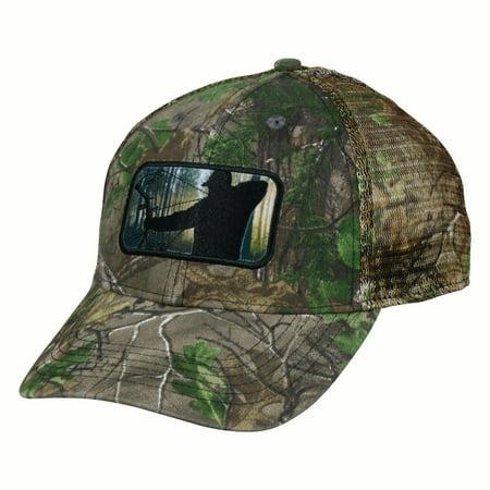 Outdoor Cap Realtree Extra Green Mesh Back Major League Bowhunter Hunting Hat