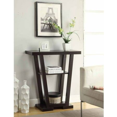 Featuring Console (Convenience Concepts Newport V Console Table, Multiple Finishes)