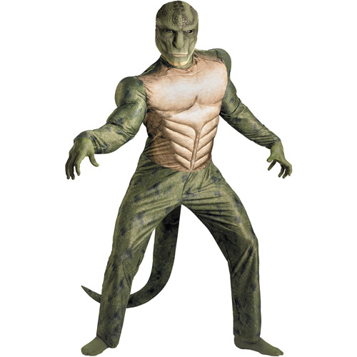 Spider-Man Lizard Classic Muscle Adult Halloween Costume