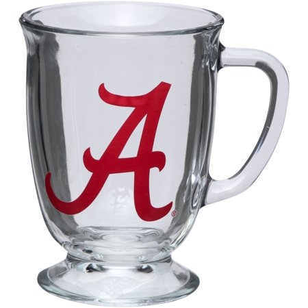 Alabama Crimson Tide 16oz. Kona Glass Mug - No -