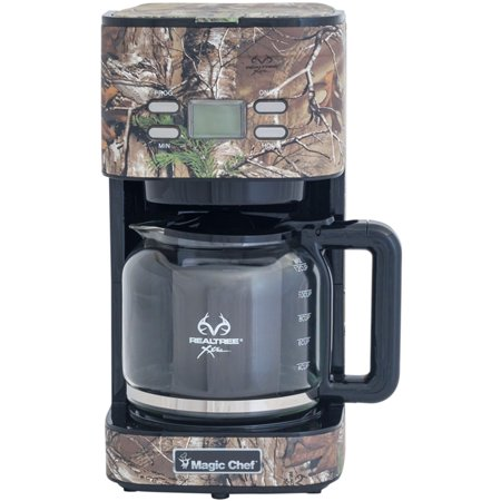 Magic Chef 12-Cup Drip Coffee Maker with Authentic Realtree Xtra Camouflage Pattern (Magic Chef Coffee)