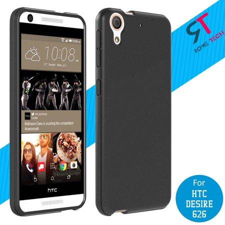 Rome Tech Specifically Designed Silicone Case Cover in Black For HTC Desire 626