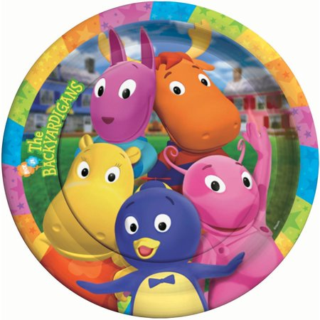 The Backyardigans Lunch Paper Plates, 8ct By Factory Card and Party Outlet](Party And Card Outlet)