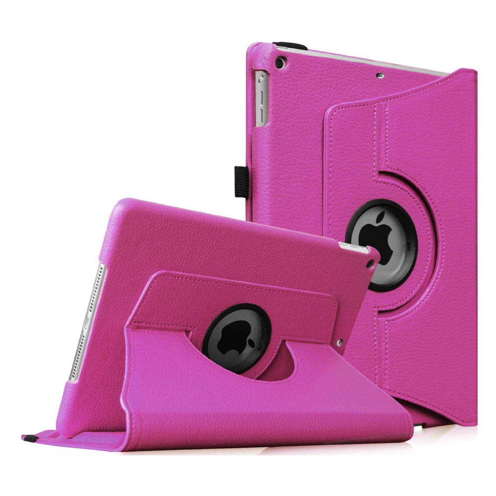 iPad mini 3 / iPad mini 2 / iPad mini Rotating Case - Fintie Multi-Angle Stand Smart Cover with Auto Sleep/Wake, Violet