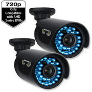 Night Owl CAM-2PK-AHD7 720p HD Security Bullet Cameras with 100' of Night Vision