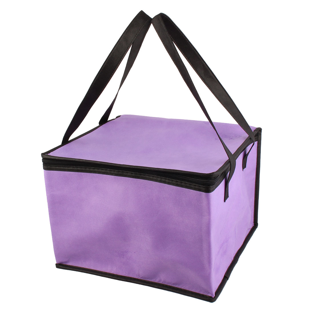 "Non-Woven Fabric 12.4"" Length Insulated Thermal Lunch Cooler Tote Bag"
