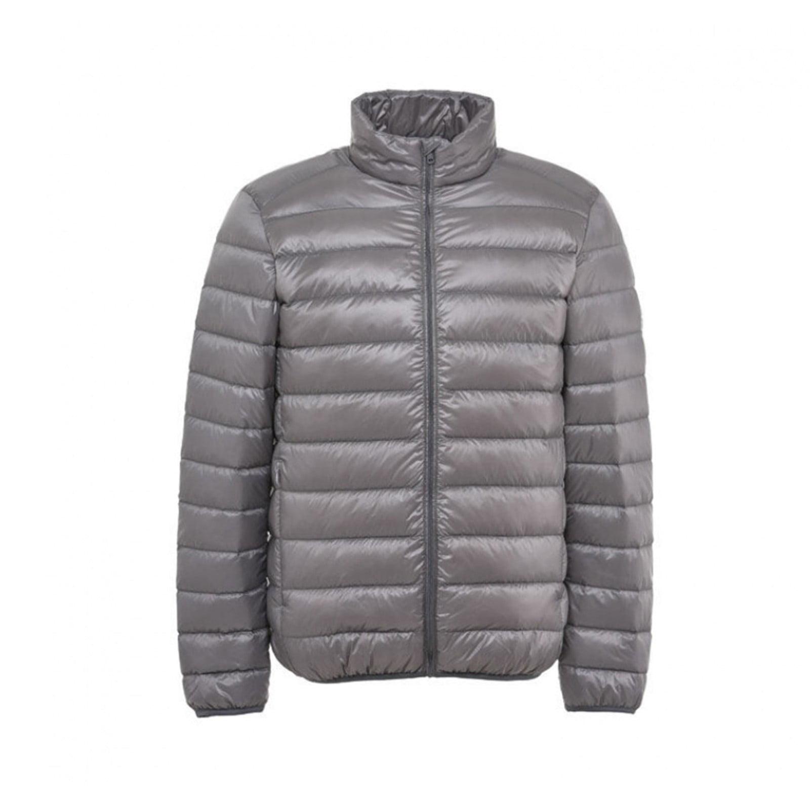 Men/'s Ultralight Hooded Duck Down Jacket Puffer Winter Coat Packable Outerwear