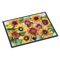 Sunflowers Door Mat