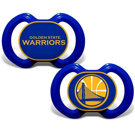 Golden State Warriors Infant 2-Pack Pacifier Set - No Size - Gold State Warriors