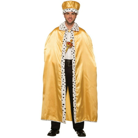 Gold Adult King Crown Halloween Costume Accessory (King Costume)