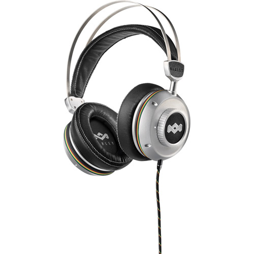 HOUSE OF MARLEY EM-DH003-IO TTR(TM) Pitch Noise-Canceling Over-Ear Headphones with 3-Button Microphone