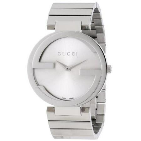 2837888b2e8 Gucci - Gucci Women s YA133308  Interlocking-G  Stainless Steel ...