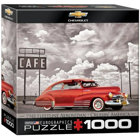 EuroGraphics 1948 Chevrolet Fleetline Aerosedan 1000-Piece Puzzle