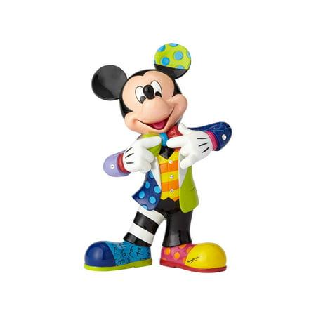 Enesco Disney by Britto 6001010 Mickey's 90th (Britto Flowers)
