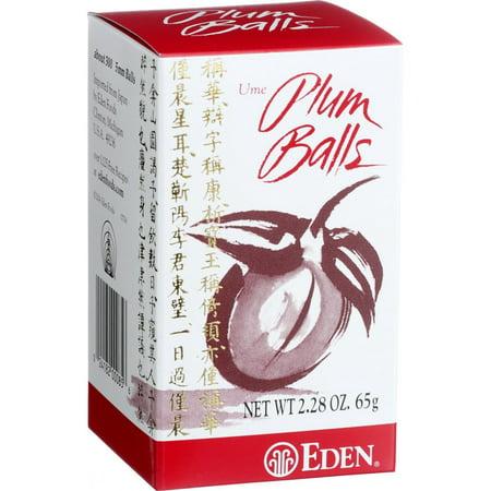 Eden Foods Ume Plum Balls   2 28 Oz