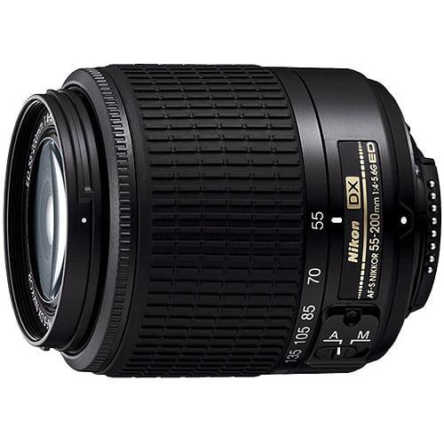 Nikon 55-200mm f/4-5.6G DX AF-S ED Zoom-Nikkor Lens