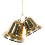 Christmas at Winterland WL-BELL-9.5-GO 95 Inch Liberty Gold Bells Indoor / Outdo