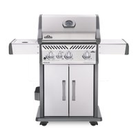 Napoleon Rogue 4 Burner with Infrared Side Burner Gas Grill