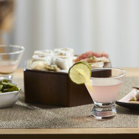 Martini Glassware - Libbey Cosmopolitan Martini Glasses, Set of 4
