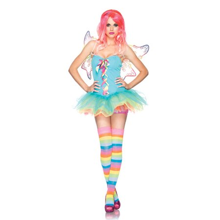 Rainbow Fairy Adult Costume - Adults Fairy Costumes