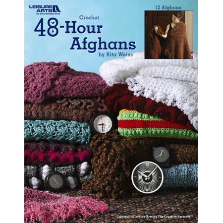 48-Hour Afghans (Leisure Arts #3694) ()