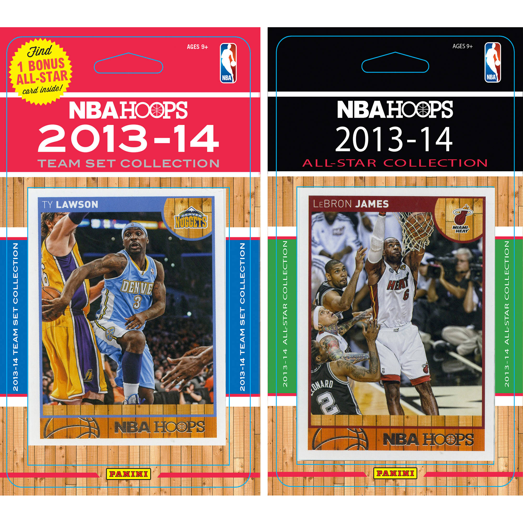C&I Collectables NBA Denver Nuggets Licensed 2013-14 Hoops Team Set Plus 2013-24 Hoops All-Star Set
