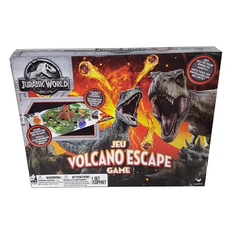 Jurrasic World Volcano Escape Family Board Game - Halloween 2017 Escape Game