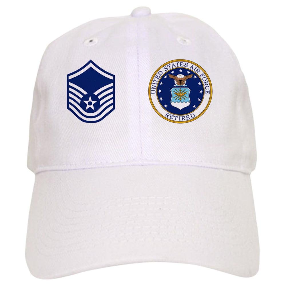 CafePress - USAF-Retired-Msgt-Mug.Gif - Printed Adjustable Baseball Cap