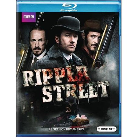 Bbc  Ripper Street  Blu Ray   Full Frame