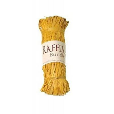 Yellow Raffia (RAFFIA Raffia Bundle Model Kit, Yellow )