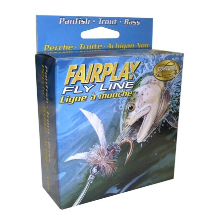 Cortland 326057 Fairplay Fly Line Floating, Assorted 84 Ft, WF5F