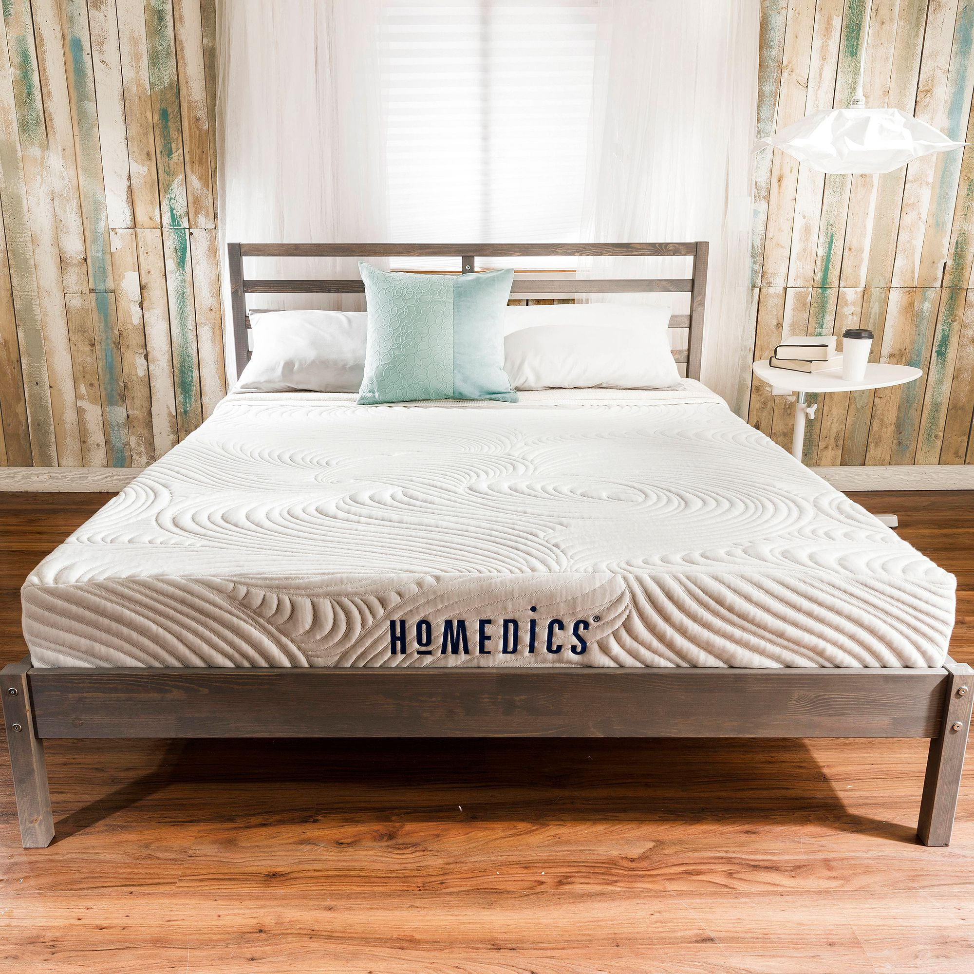 "HoMedics Revive 9"" Gel Memory Foam Mattress, Multiple Sizes"