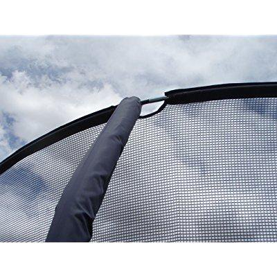 trampoline replacement net for 4 pole enclosure 14' diameter now heavy duty for 2014