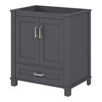 Product Image Sonata Bay Cool Gray Single Sink Bathroom Vanity Base, 30-inch